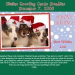 Slimline Deadline December 7th!