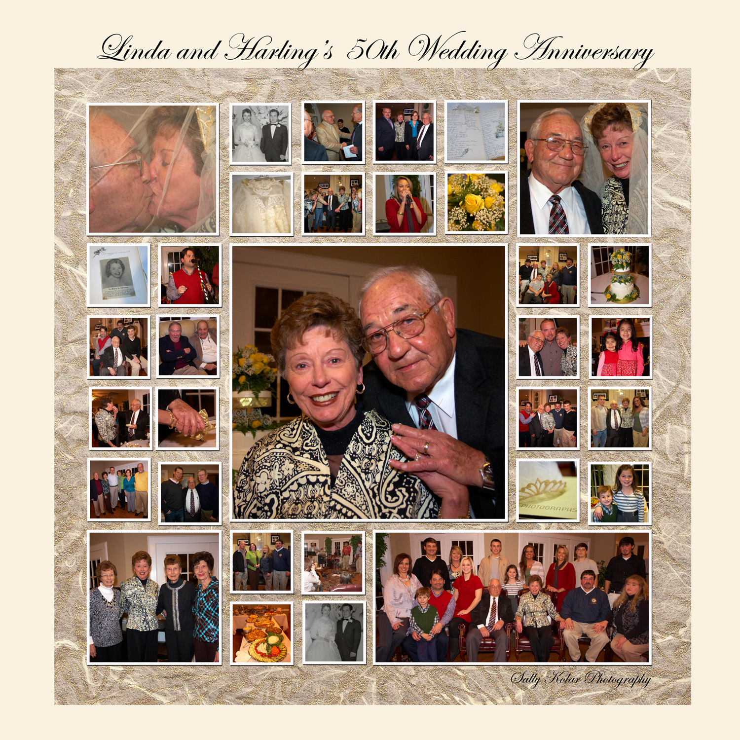 Linda and Harling's 50th Wedding Anniversary Party ...