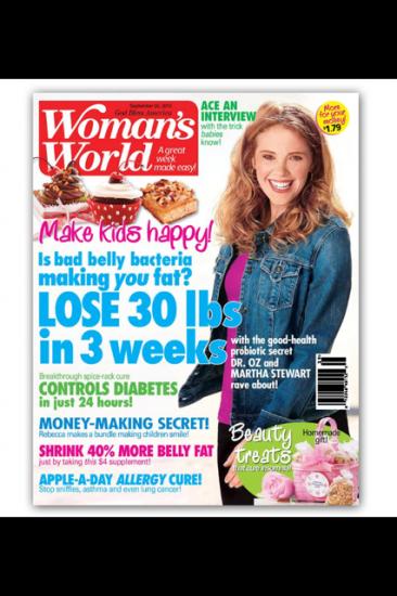 annalise bodie-woman's world magazine-sally kolar photography -cover