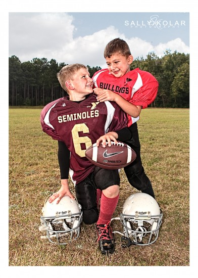 #football#brothers#North Jefferson YMCA #Wrens #Georgia# Sally Kolar Photography