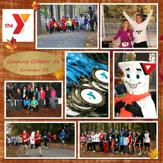 #ymca$gasping turkey run
