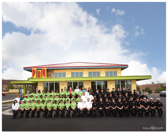 PDQ Grand Opening Team Photo