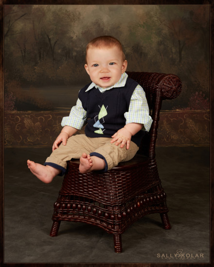 Isaak Ewing Nine Month Session