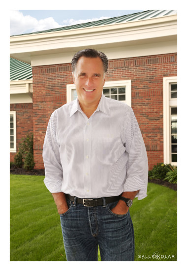 Mitt Romney Visits Augusta