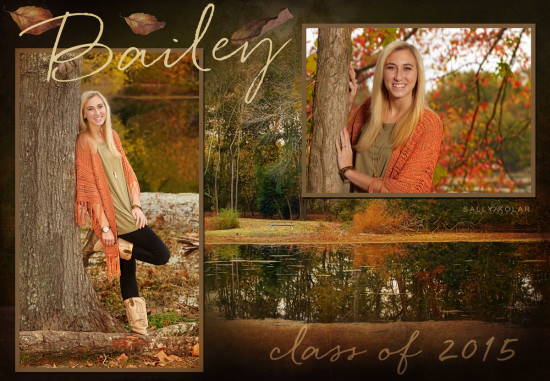 Bailey Carter senior pictures
