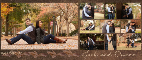 Oriana and Josh's Engagement Session