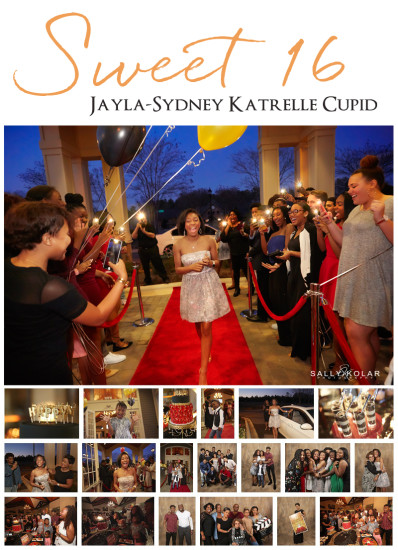 Jayla's Sweet 16th Birthday Party