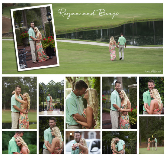 Regan and Benji are engaged!