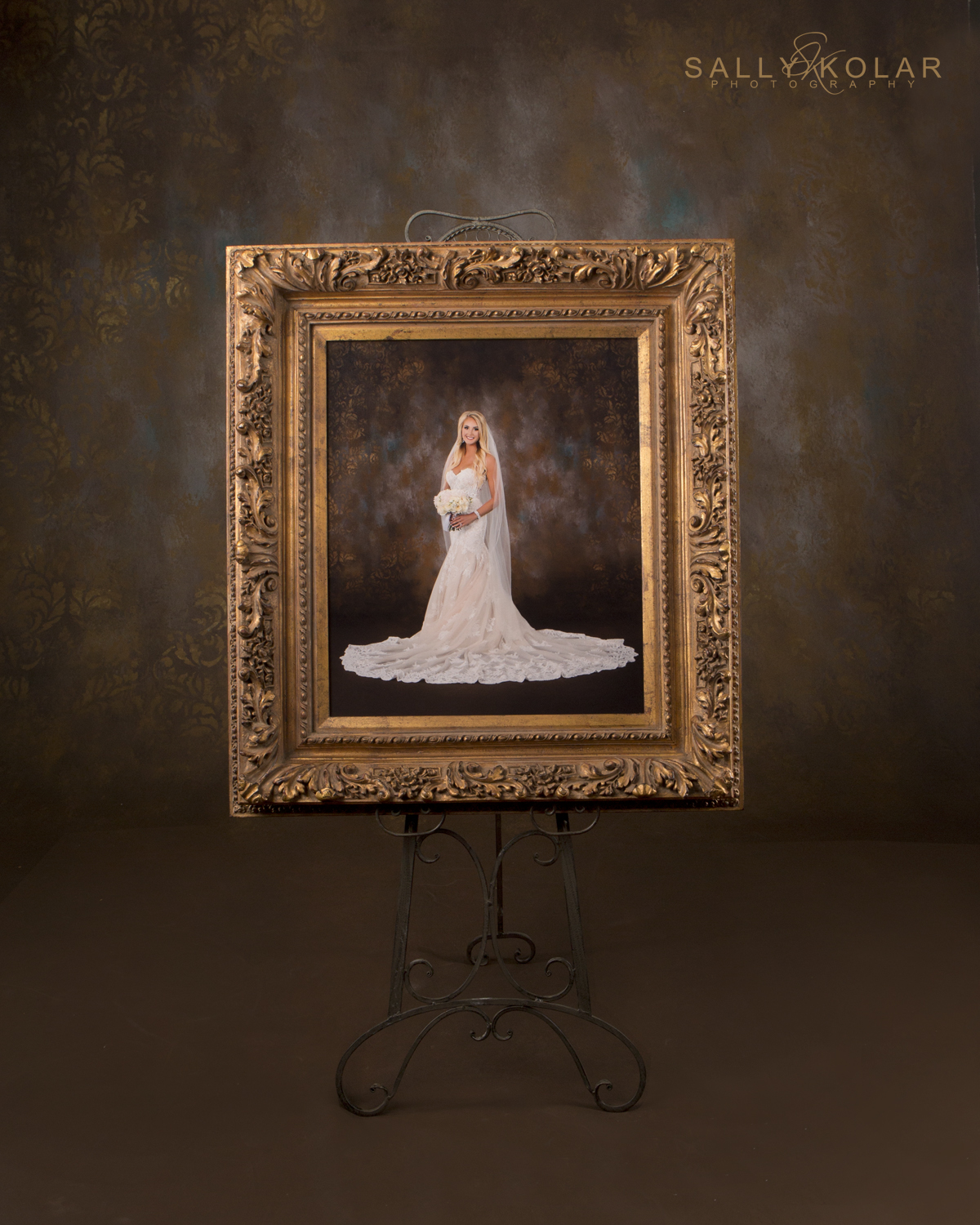 Regan Askin's Bridal Portrait